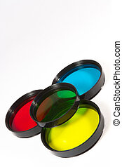 Set of creative and conversion filters for SLR camera
