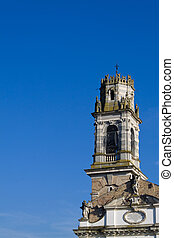 campanile - photografy of campanile with blue sky