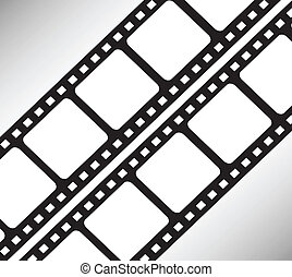 Photograph film vector background