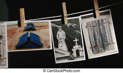Photograph, photos in darkroom