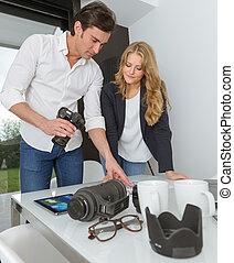 photographe, client