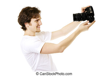 photographe, homme