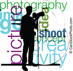 photographe, illustration