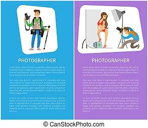 photographe, modèle, photo studio, maillot de bain