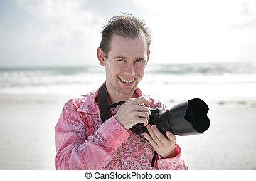 photographe, portrait