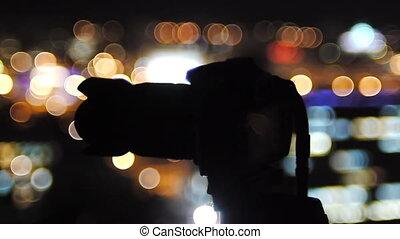 photographe, toit