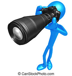 Photographer - 3D Concept And Presentation Figure