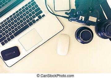 Photographer Desk
