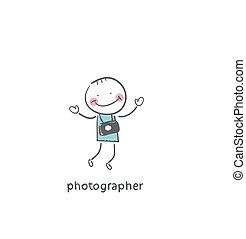 Photographer. Illustration.