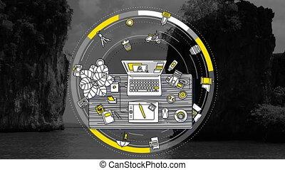 Photographer promotional dynamic animated background -...