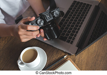 Photographer studio