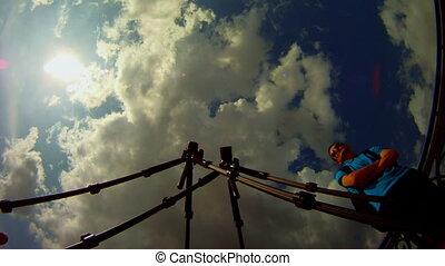 photographer time lapse