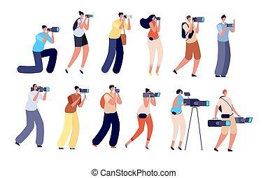 Photographers and operator. Digital video maker, ...
