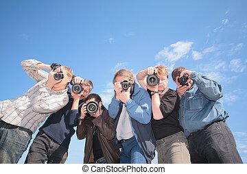 photographes, six