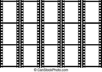 Photographic 35 mm film strip