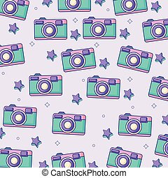 photographic camera background