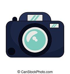 Photographic camera device isolated