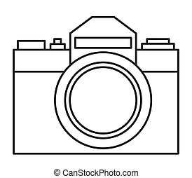 Photographic camera illustration