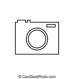 Photographic camera isolated