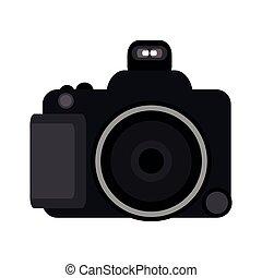 Photographic camera isolated