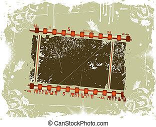 Photographic film frame