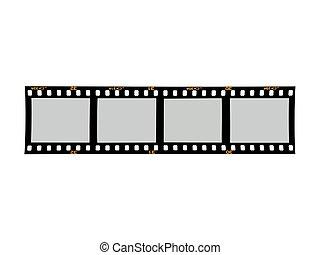 Photographic Negatives - Photographic negatives isolated...
