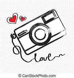 photographic - i love photographic over white background...