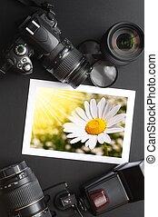 photographie, ausrüstung