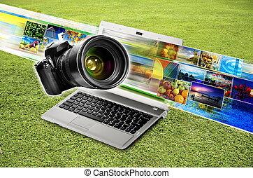 photographie, concept