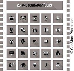 photographie, icônes