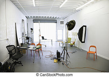 photographie, studio.