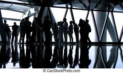 photographie, tv, intérieur, canton, tour, touristes, tourisme