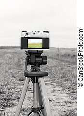 Photographing In The Field