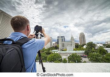 Photographing Salt Lake City, Utah, USA