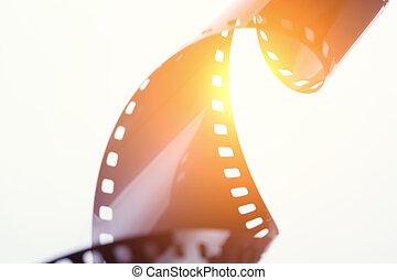 photographischer film, streifen