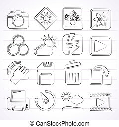 Photography and Camera icons - Photography and Camera...