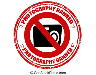 Photography banned-stamp