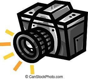 Photography Camera vector icon