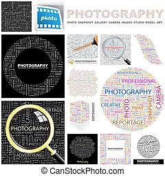 Photography. Concept illustration.