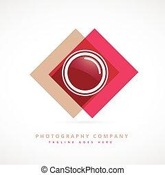 photography design logo illustration