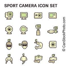 Photography equipment icon