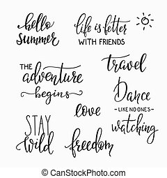 photography family album overlay set - Lettering photography...