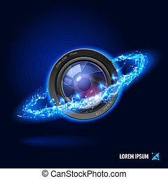 Photography high voltage