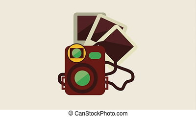 Photography icon Design, Video Animation