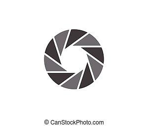 Photography logo design Template