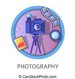 Photography studies, subject at school, university discipline class