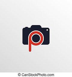 photography theme logotype