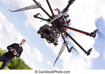 Photography UAV - Photographer flying rc controlled...