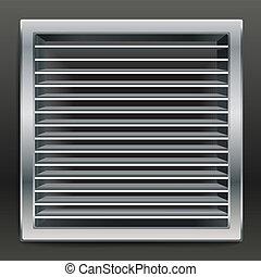 bathroom ventilation window - Photorealistic bathroom...