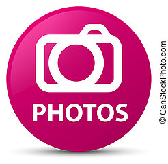 Photos (camera icon) pink round button